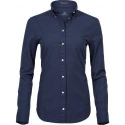 Ladies Premium Oxfort Shirt granat