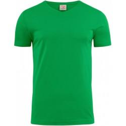 HEAVY V-NECK- zielony