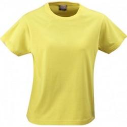 RSX LADIES HEAVY T-SHIRT - żółty