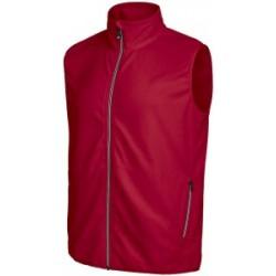 Melton Vest czerwony