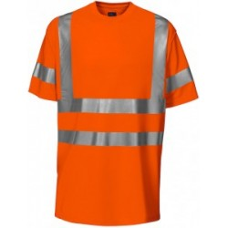 T-SHIRT EN ISO 20471 KLASA 3- pomarańcz